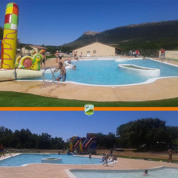 campsite with pool spain